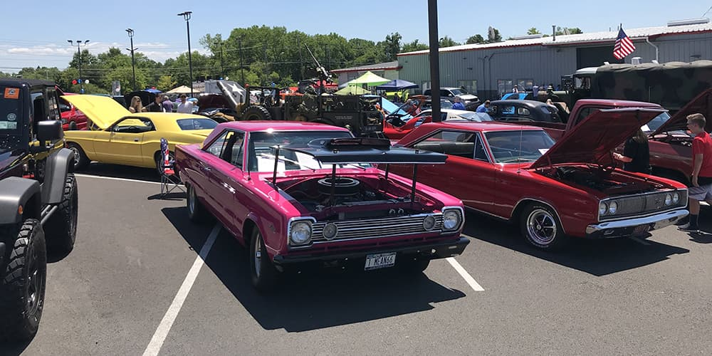 Mopar And Jeep A Great Car Show Goldstein Chrysler Jeep Dodge