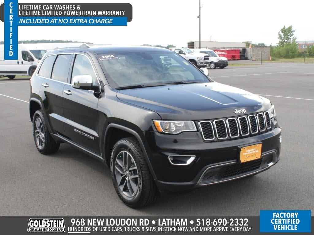 2018 Jeep Grand Cherokee Limited In Albany, NY   Goldstein Chrysler Jeep  Dodge RAM