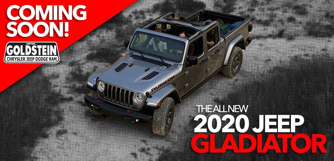 2020 Jeep Gladiator - Coming Soon to Albany NY
